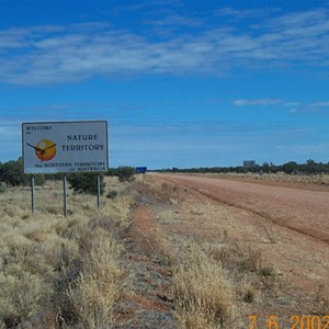 Plenty Highway, NT-QLD Border