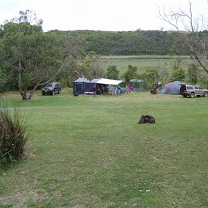 Aire River East Camping Ground