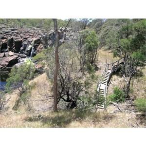 The Nigretta Falls near Hamilton. Victoria