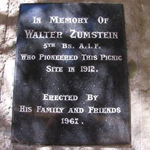 Zumstein Picnic Area