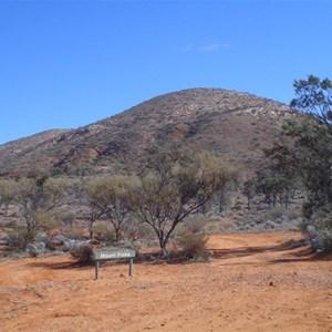 Mount Finke from Goog's Track