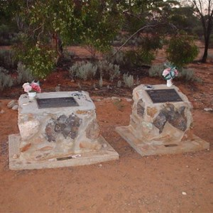 Memorials to Goog and Dinger