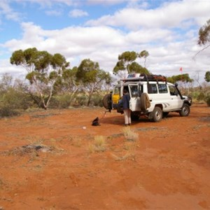 Anne Beadell Hwy (No. 3 Campsite)