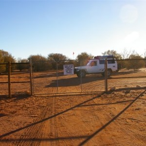Anne Beadell Hwy, Vermin Proof Fence