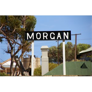 Morgan Railway Station