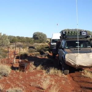 Remnants of Vehicle Fire (Hunt Oil Road)