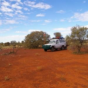 Hunt Oil Road (Good Campsite)