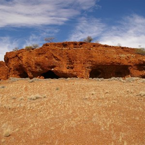 Caves & Hunt Oil Drilling Camp Access