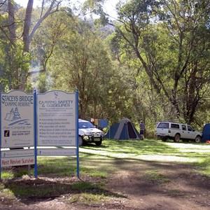 Stacey Bridge Camp Area