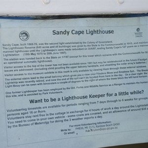 Sandy Cape Lighthouse