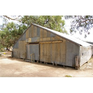 Old Chowilla Woolshed