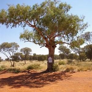 Len Beadell's Tree & Plaque