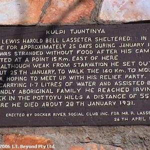 Lasseters Cave