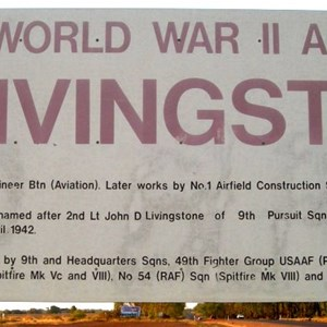 World War II Airstrip Livingstone