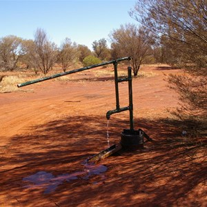 Bore and Hand Pump on Sandy Blight Junction Road