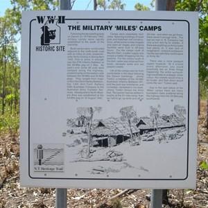 World War II Military Camp Miles