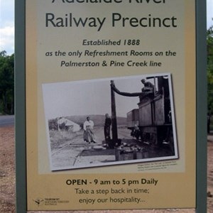 Adelaide River Railway Precinct Part 1