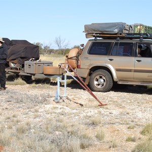 Hunt Oil Road - Bore and hand pump