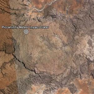 Piccaninny Meteorite Impact Crater
