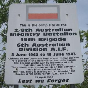 World War II Military Camp 2/8th AIB