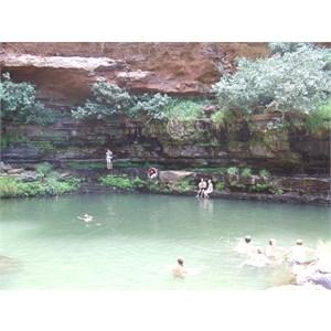 Circular Falls and Pool