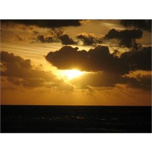 Sunrise over Noah's Beach