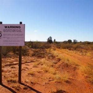 Maralinga Lands, Eastern Boundary