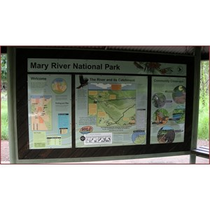 Mary River NP Information Bay