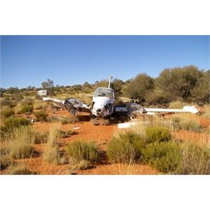 Light Plane Wreckage