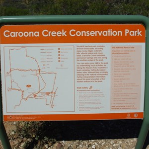 Park Information Sign and Lookout
