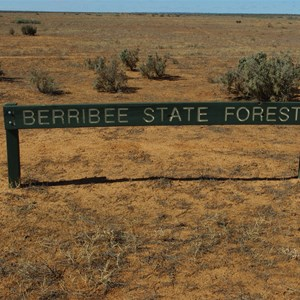 Berribee State Forest Boundary Sign