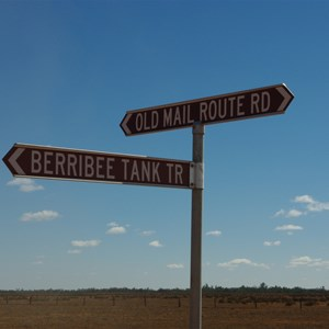 Berribee Tank Track - Old Mail Route Road