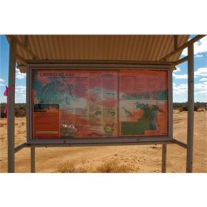 Lindsay Island Information Booth