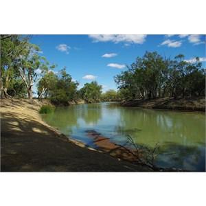 Mullaroo Creek at Mullaroo No 1