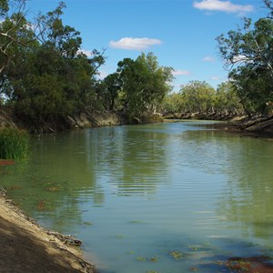Mullaroo Creek at Mullaroo No 1