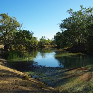 Mullaroo Creek at Mullaroo No 3