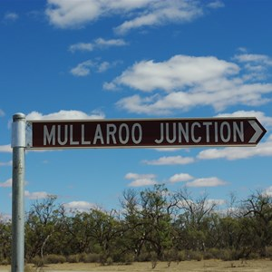Mullaroo Junction Turn Off