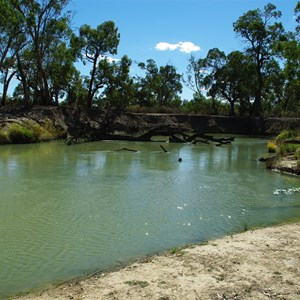 Mullaroo Creek at Mullaroo No 5