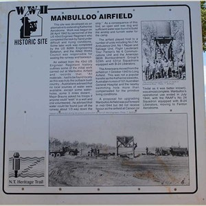 World War II Airstrip, Manbulloo