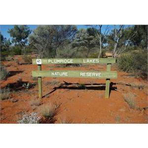 Plumridge Lakes Nature Reserve Sign