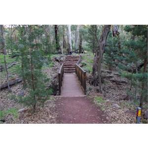 Small Bridge and Stone Steps