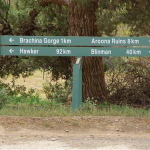 Bunyeroo Gorge Rd & Brachina Gorge Rd