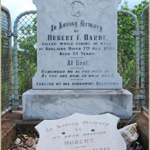 Fred Hardy's Grave