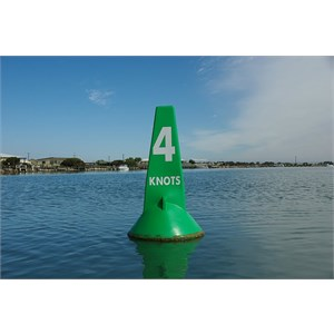 Green Marker 4 Knots Buoy