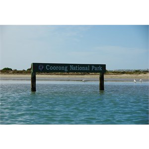 Coorong Sign and Channel Marker