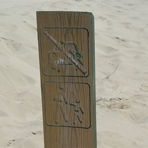 Walking Track Marker