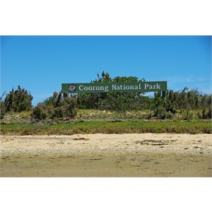Coorong National Park Sign