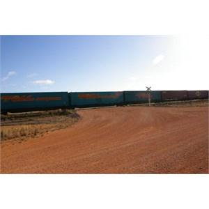 Connie Sue Hwy & Trans Australian Railway