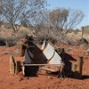 Gibson Desert - Midway Well Talawana Track - Corrugations, dust and mechanical difficulties!