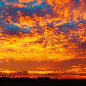 Outback Sunset - The Greatest Light Show on Earth